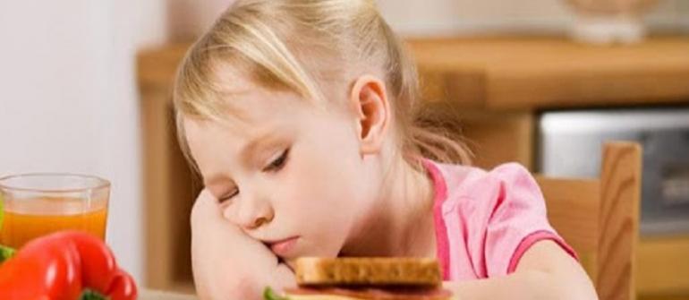 بی اشتهایی و بدغذایی کودکان