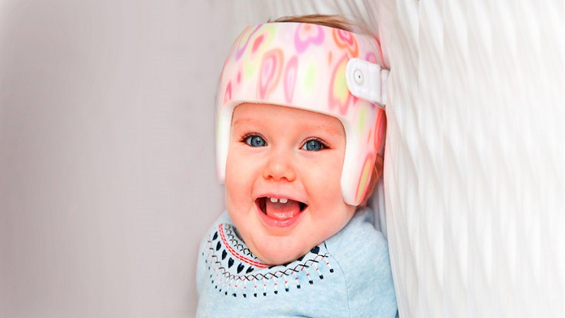 صاف شدن سر نوزاد
